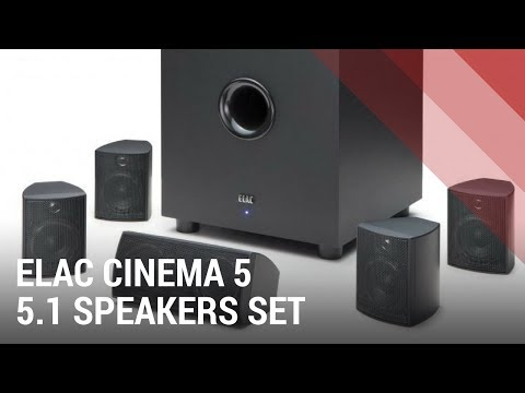ELAC Cinema 5 Set Home Theater System - Quick Review India