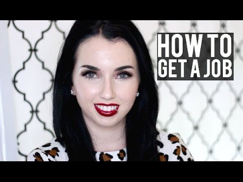 GETTING A JOB AFTER COLLEGE | Advice, Experience & The Real World