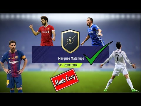 FIFA 18 Marquee Matchups Made Easy!  May 1st    Bonus Trading Tips!
