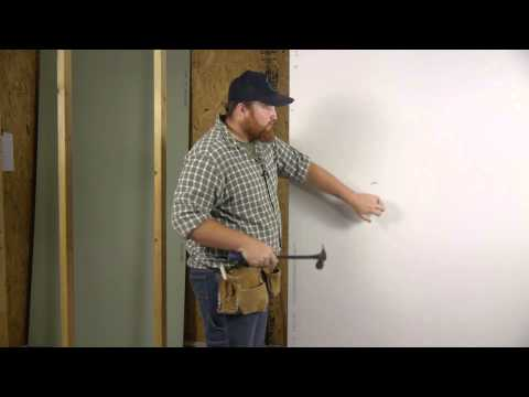 How to Install Drywall With Nails : Wall Repair