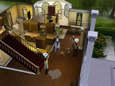 Sims 3 Ambitions Ghost Hunter -Move on ghost
