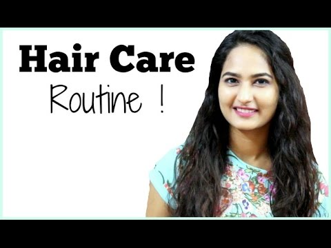 My Hair Care Routine (Curly, Frizzy, Dry) || Deepika Elleedu