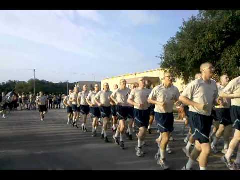 Air Force Basic Training -Final 1.5 Mile run-8/12/10