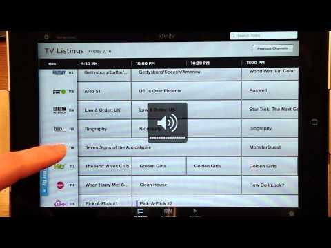 iPad App Review: Xfinity TV