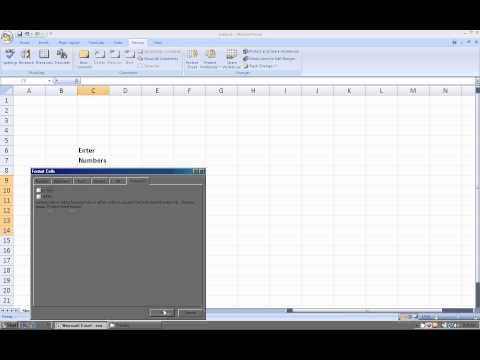 Excel 2007:  How to protect a worksheet and only allow users to change specific ranges
