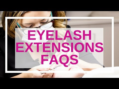 Eyelash Extensions FAQs