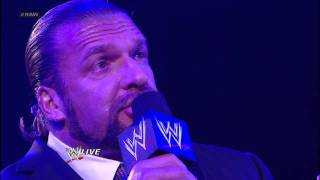 Raw: Triple H agrees to face Undertaker at WrestleMania in