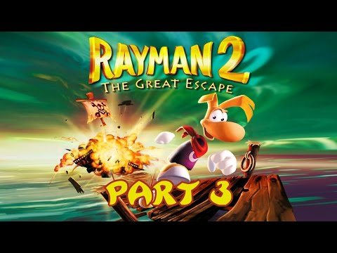 Rayman 2: The Great Escape - Walkthrough (Part 3 of 4)