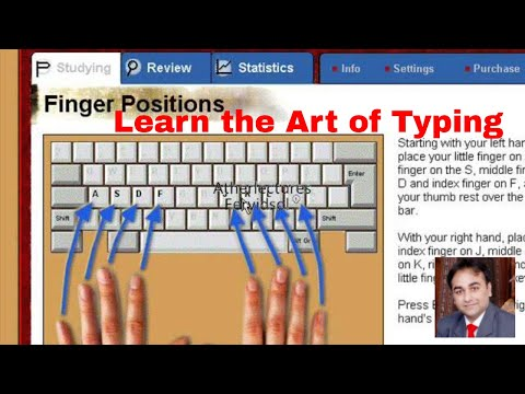 Training of Typing in Urdu by Syed Ather Ali
