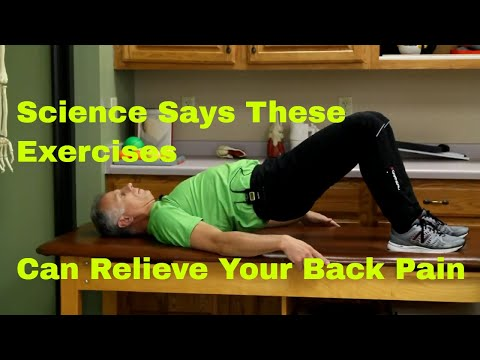 Science Says These Exercises Can Relieve Your Back Pain (Stretches & Strengthening)