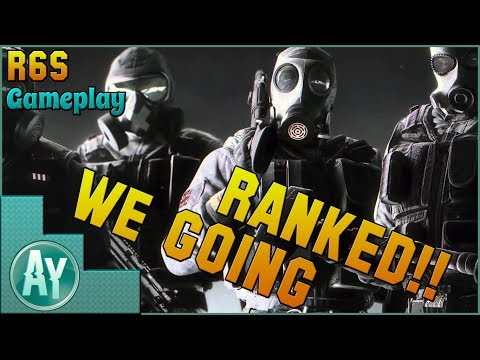 Rainbow 6 Siege: Ranked on Xbox One!! 6 Rounds of Heat!!