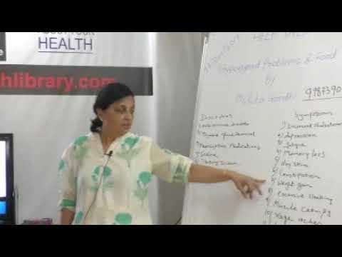 Hypothyroid Problems & Food By Ms. Rita Gandhi on Health HELP Talks