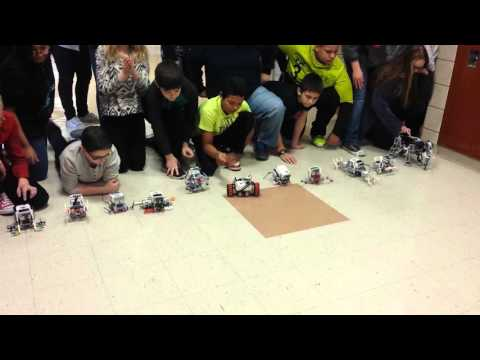 Lego Mindstorms EV3 Move Without Wheels 7th Grade Robotics