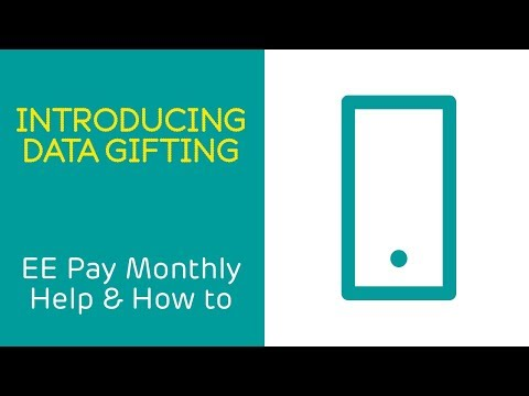 EE Pay Monthly Help & How To: Introducing Data Gifting