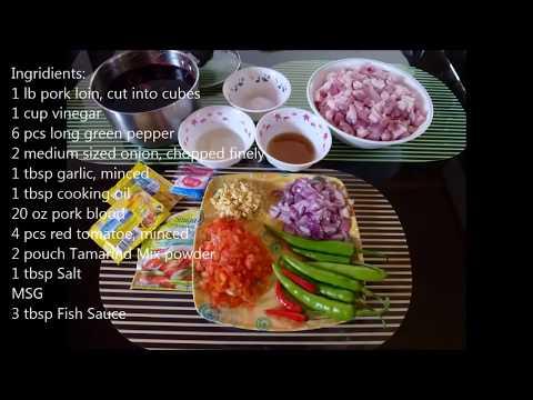 Pork Dinuguan (Blood Stew)