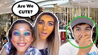 Download We Did Our Makeup HORRIBLY TO See How Our FAMILY Would REACT!! Familia Diamond Video