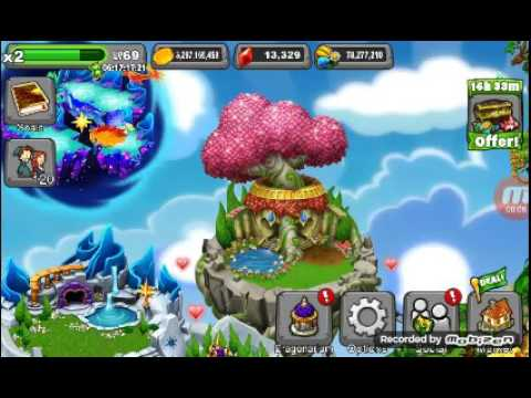 How to breed the SUN and MOON dragon in dragonvale  (100% REAL! )