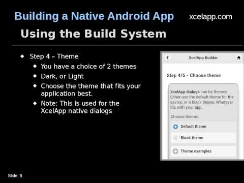 Build a native Android App for your HTML5 Application