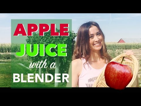 How to Make Apple Juice with a Blender | The Jennifer Mac