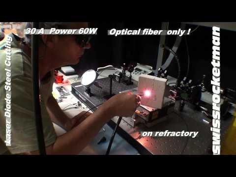 Laser diode steel cutting.mp4