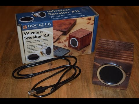 How to Make a Wireless Speaker Cube (woodlogger.com)