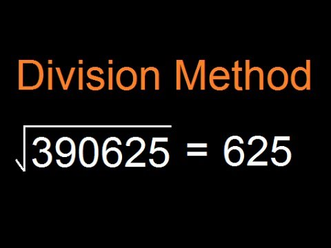 Shortest fastest method to find Square root of a large number | Short cut  - division method -  HARD