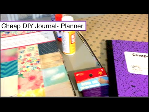 DIY Planner-Journal