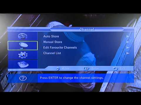 Samsung re-tune your TV - video 1