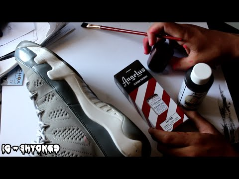 Channel Feature #16: How To Dye Light Patent Leather Tutorial: Revamped Customs