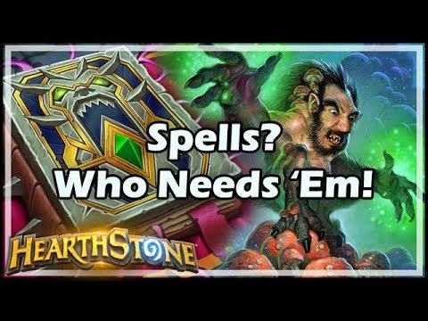 [Hearthstone] Spells? Who Needs 'Em!