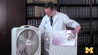 Build a do-it-yourself air purifier for about $25