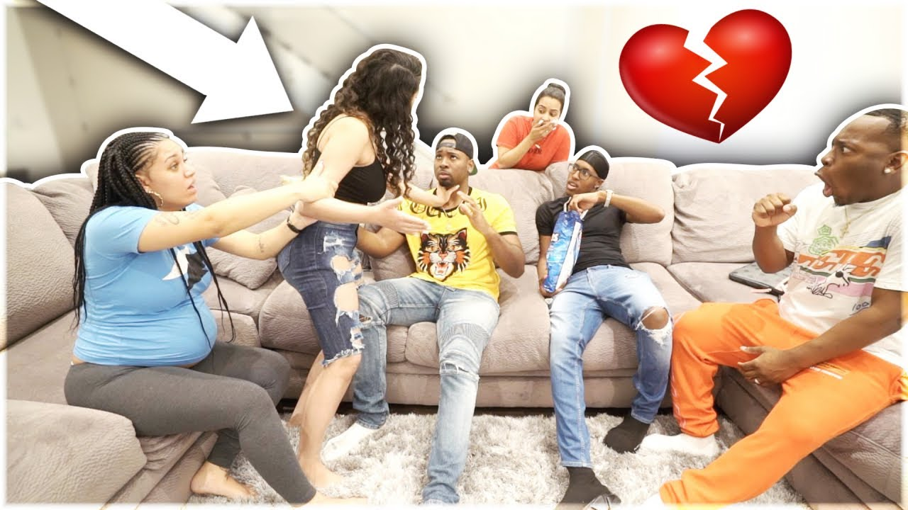 """HICKEY PRANK ON GIRLFRIEND IN FRONT OF """"THE PRINCE FAMILY & CARMEN & COREY"""""""