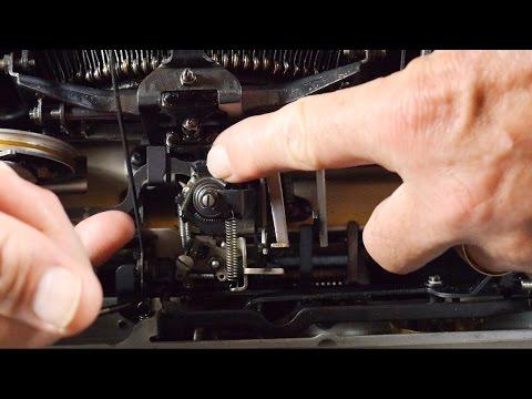 Typewriter Video Series - Episode 67: Typewriter Repair Bible