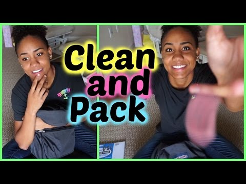 Cleaning Out & Packing My Backpack!