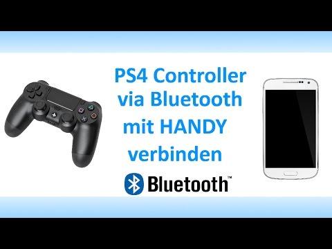 PS4 Life Hacks! Handy mit Wirelles Controller verbinden