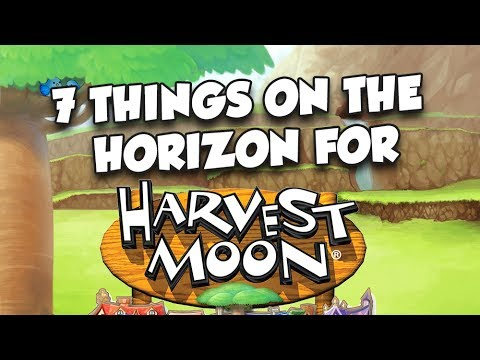 7 Things on the Horizon for Harvest Moon! +Giveaway
