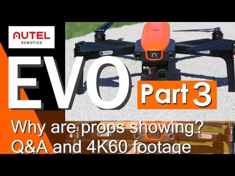 Autel Evo - 4K footage, Q&A, and Correction (PART 3)