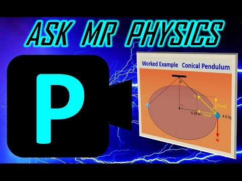 Ask Mr Physics Conical Pendulum