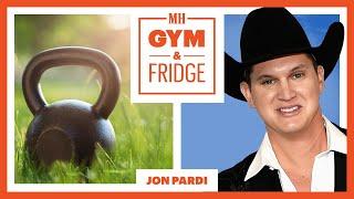 Jon Pardi Shows His Home Gym & Fridge On His Nashville Farm   Gym & Fridge   Men's Health