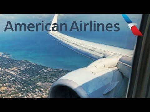 American Airlines 737-800 Landing in Chicago (ORD)
