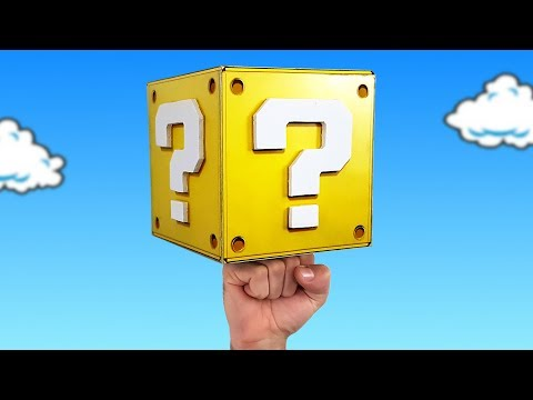 SUPER MARIO QUESTION BLOCK - GAMER DECORATION