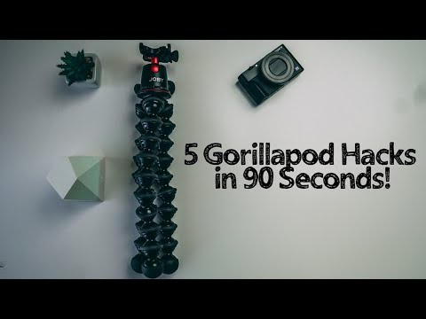 5 Gorillapod Hacks in 90 Seconds!
