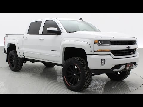 Lifted 2016 Chevrolet Silverado 1500 2LT 4WD by #RTXC | CANADA