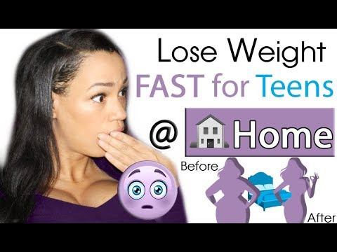 How to Lose Weight for Teenagers at Home