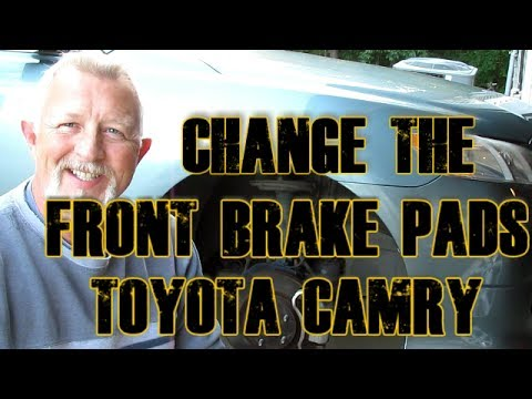 Toyota Camry Replace Front Brake Pads