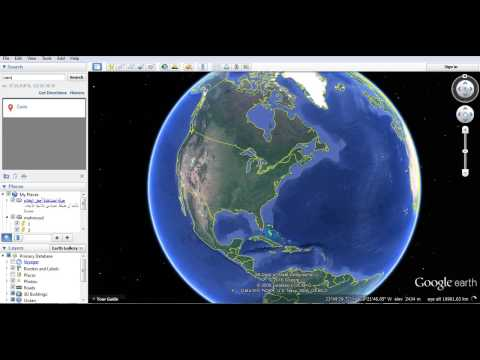 Convert Coordinates system ETM to UTM and export autocad file to google earth