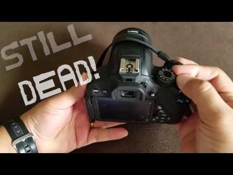 Canon T5i broke! SD card Troubles!