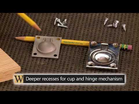 How-To: Installing Flush-Mounted Hardware
