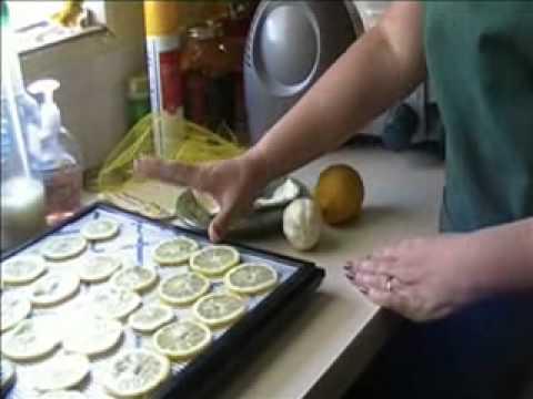 Dehydrated Lemons.