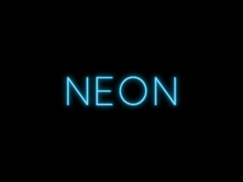 How to Create a Neon Text Effect in Adobe Illustrator - Urdu / Hindi Tutorials
